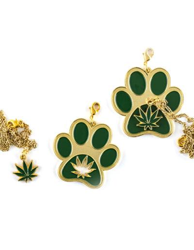 Cannabis Charm Necklace