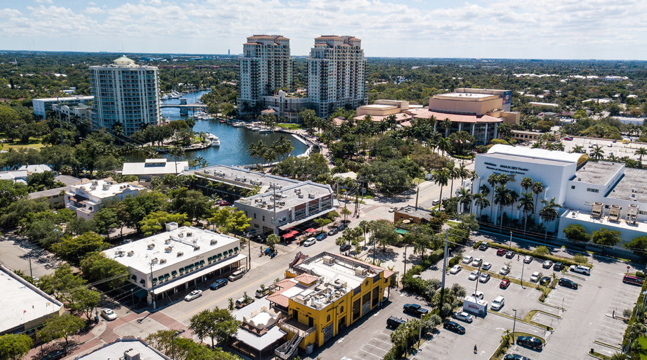 Shato Downtown Fort Lauderdale - Aerial View