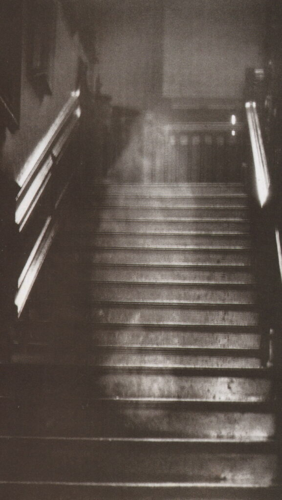 Apparition on stairs, possible paranormal activity
