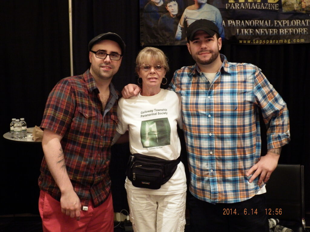 Dave Tango and Steve Gonsalves from Ghost Hunters