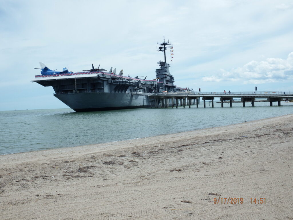 USS Lexington, Corpus Christi, Tx paranormal investigation