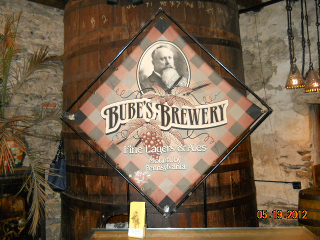 Bube's Brewery, Mount Joy Pa paranormal investigation