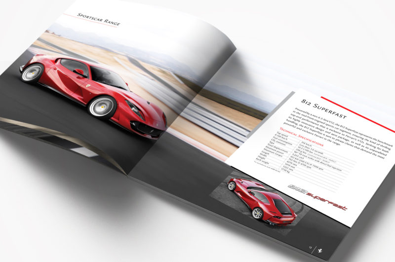 Ferrari catalogue