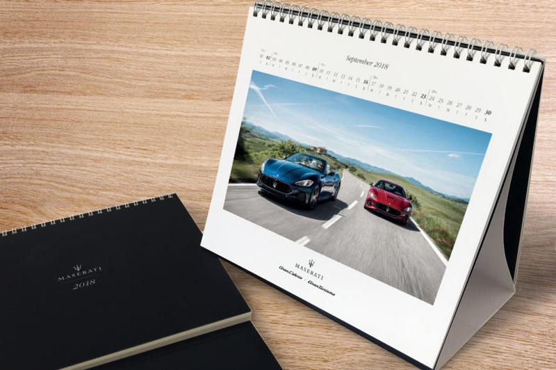 Maserati calendar
