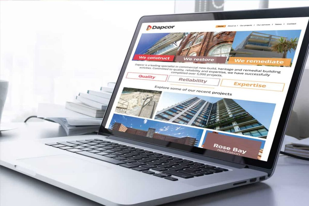 Dapcor website