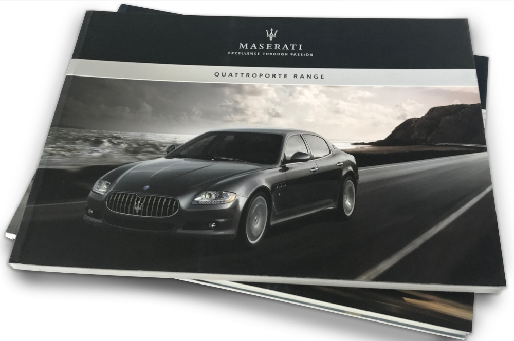Maserati catalogues