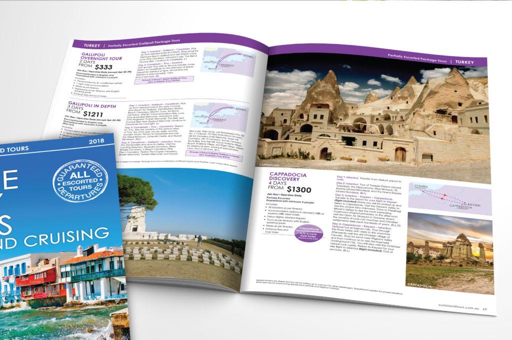 Sun Island brochures