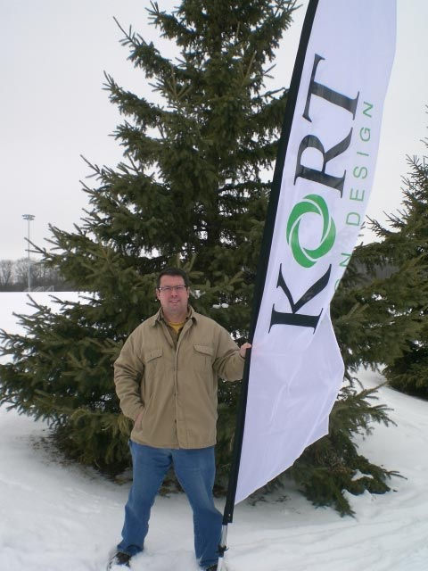 outdoor banner kort signs