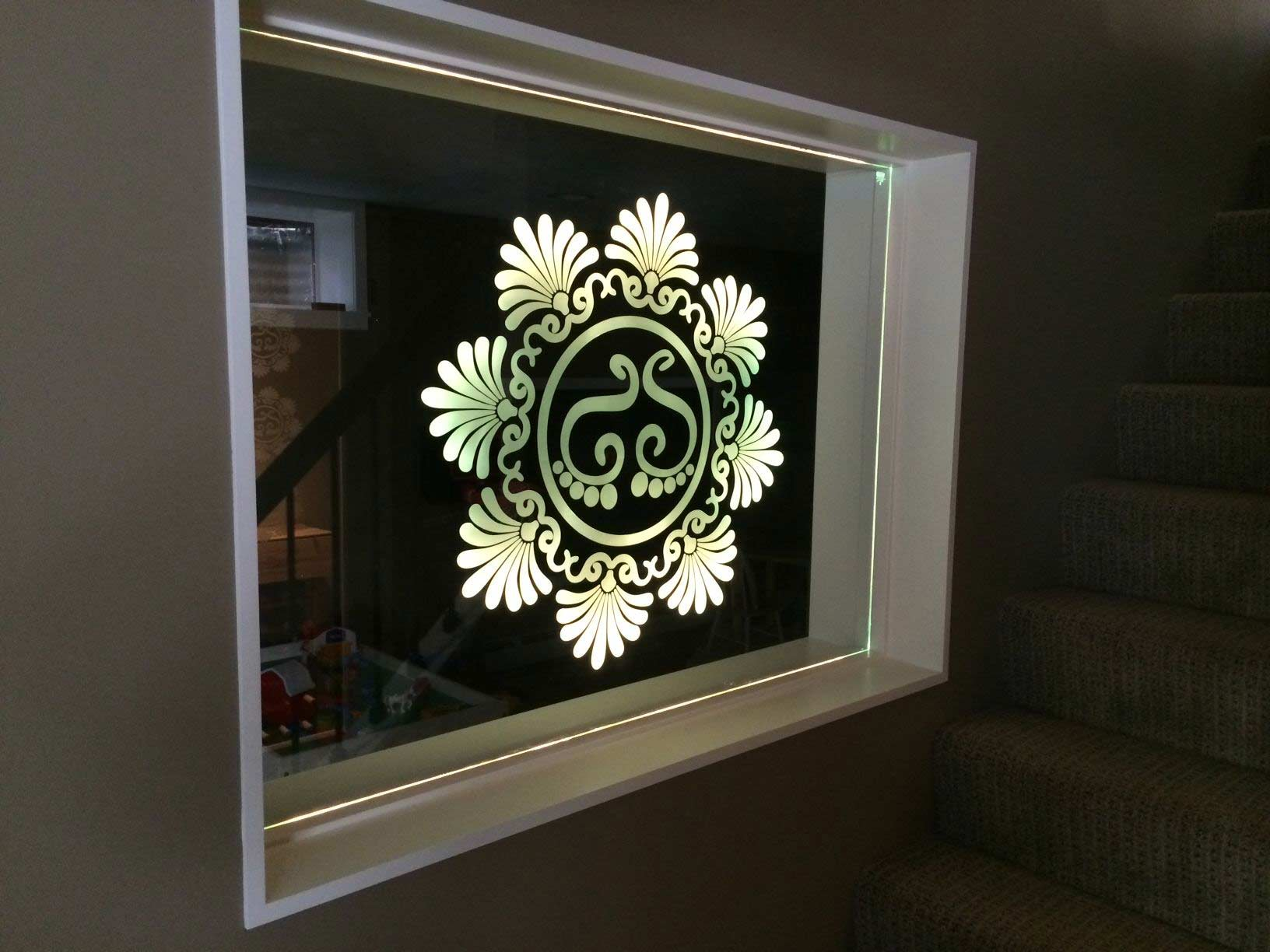indoor window decal