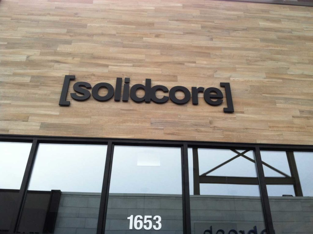 outdoor sign solidcore