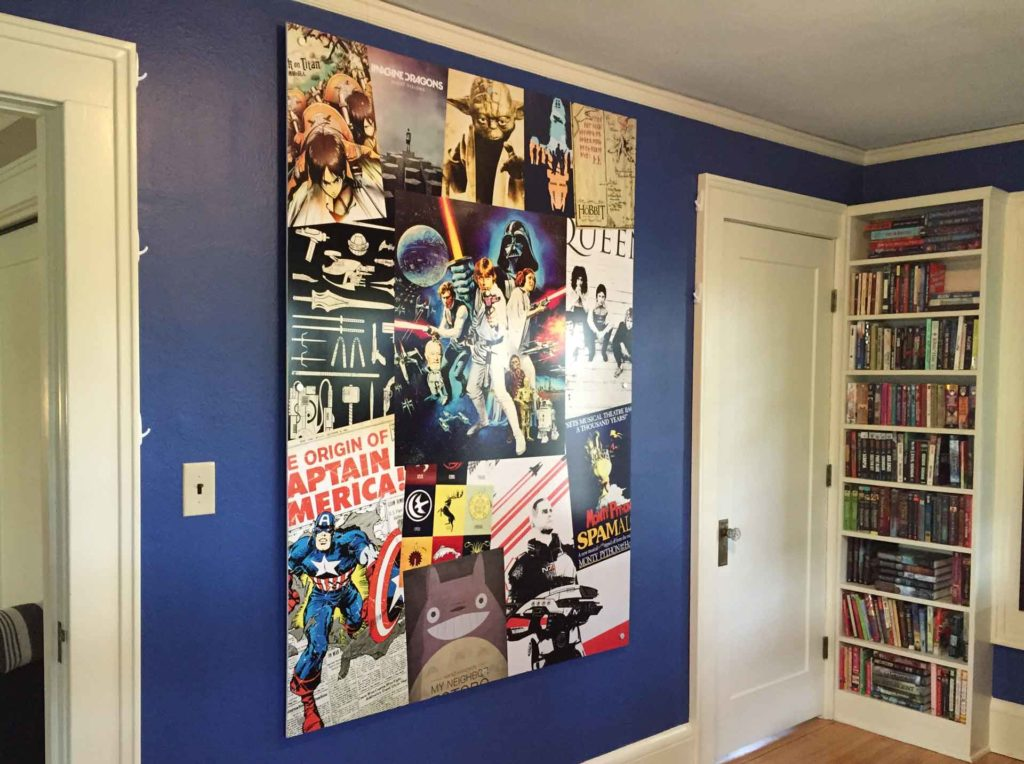 wall mural gift star wars captain america