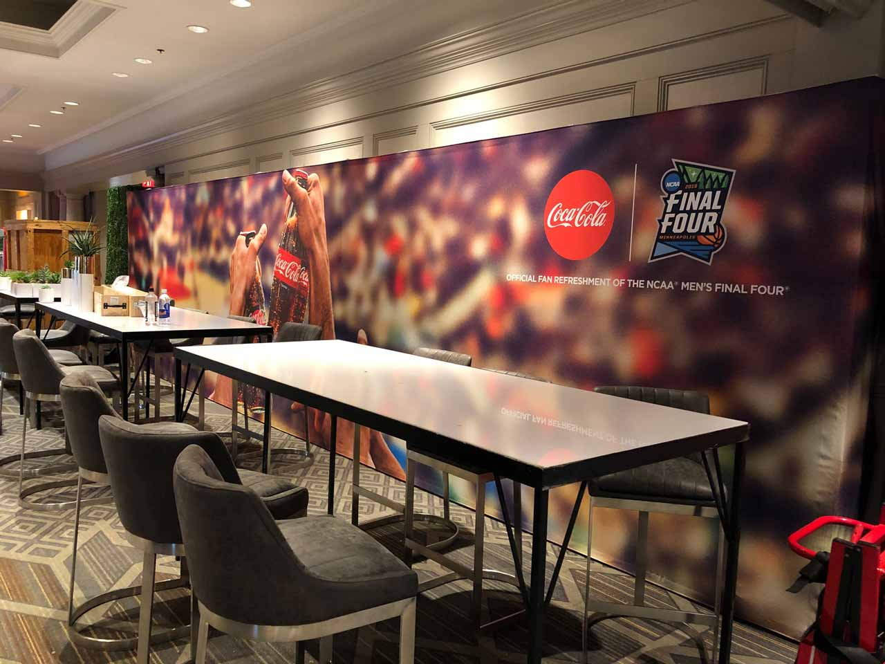 wall mural graphic ncaa final four