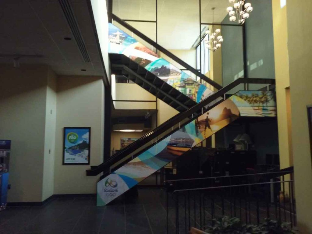 custom stair graphics