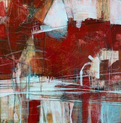 """Red 3 -12""""x12"""""""