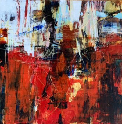 """SOLD: Red 1 - 12""""x12"""""""