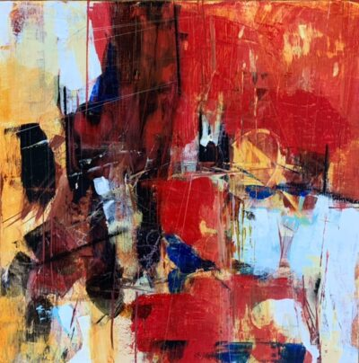 """Red 2 - 12""""x12"""""""