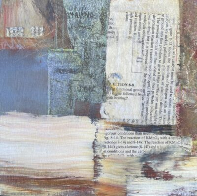 """Lost In The Library - 8""""x8"""""""