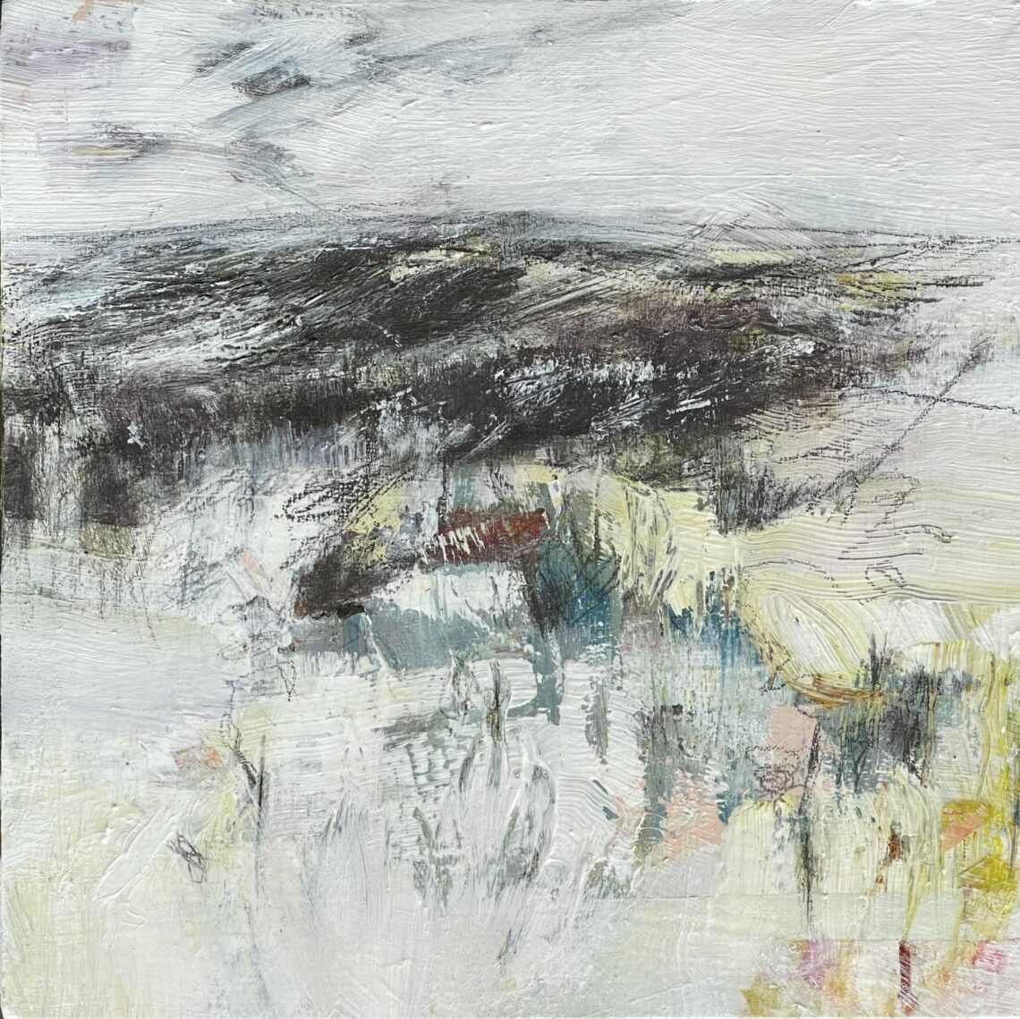 """Snow On The Slope - 8""""x8"""""""