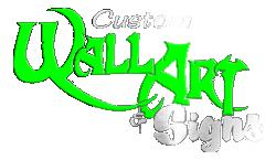 Custom Wall Art & Signs Logo
