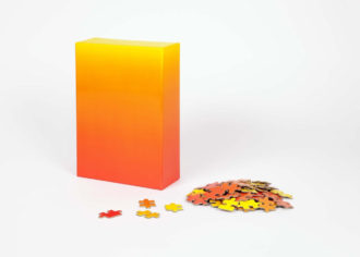 Areaware Gradient Puzzle - Red/Yellow