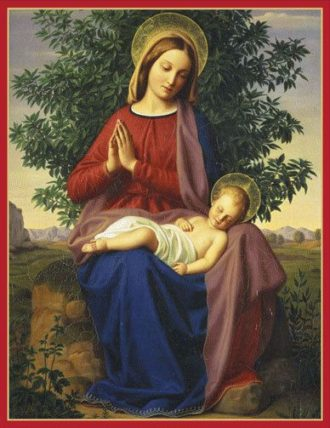 Caspari Madonna and Child