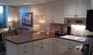 Kitchen & LR