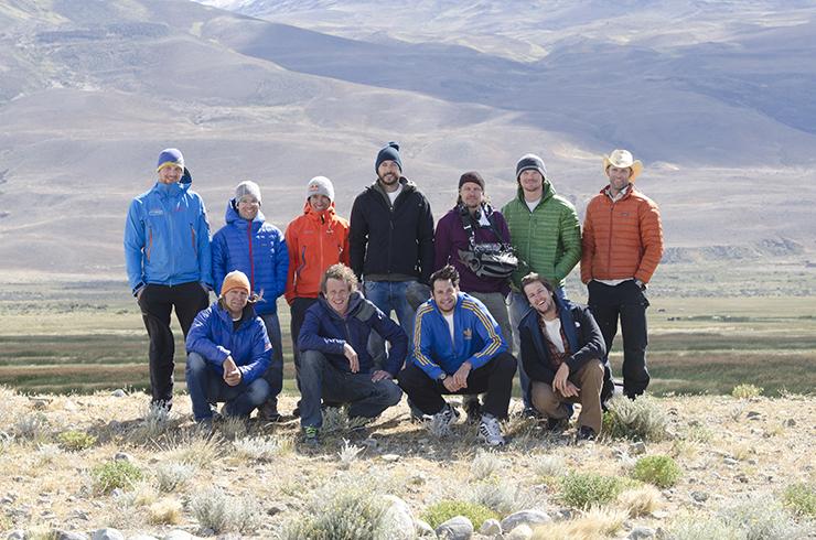 David Lama and Peter Ortner in El Chalten, Argentina. Cerro Torre Red Bull