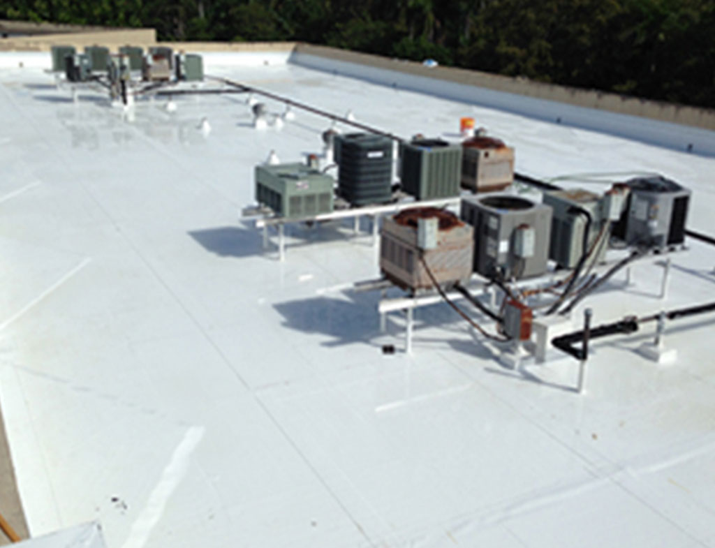 Commercial Roof Work