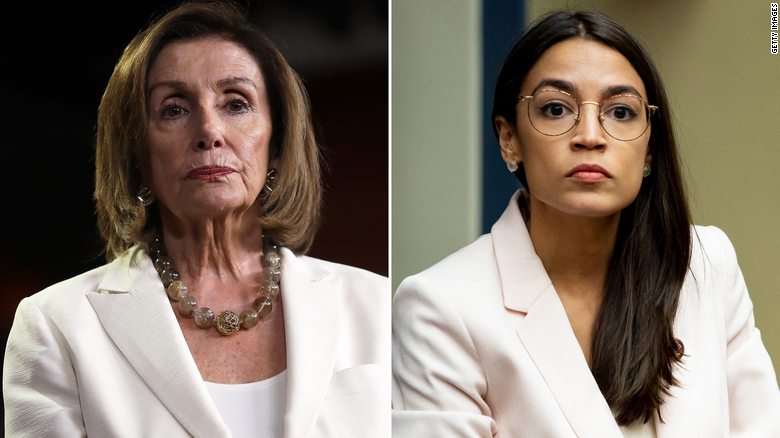 Leader of House Progressive Caucus Derides Pelosi's Comments on AOC