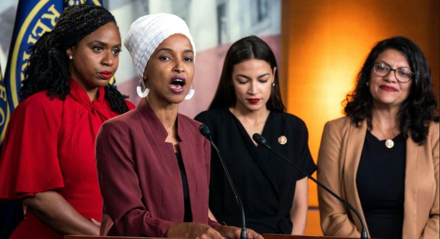 Republicans Support Trump For Scolding The Socialist 'Squad'