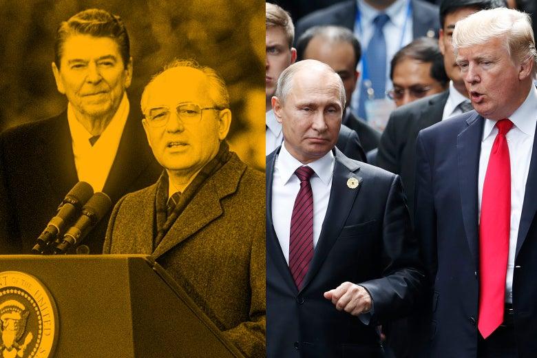 Trump Kills Reagan Era Nuke Treaty With the Russians