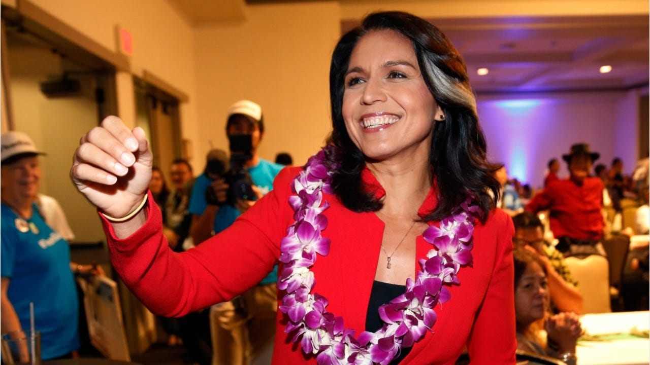 Gabbard Says Harris is 'Unfit' to Be Commander-in-Chief