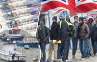 A Fleet Of Migrants Were Intercepted On The UK Boarder