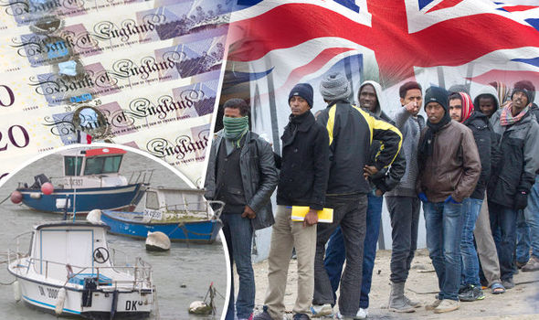 A Fleet Of Migrants Were Intercepted On The UK Boarder