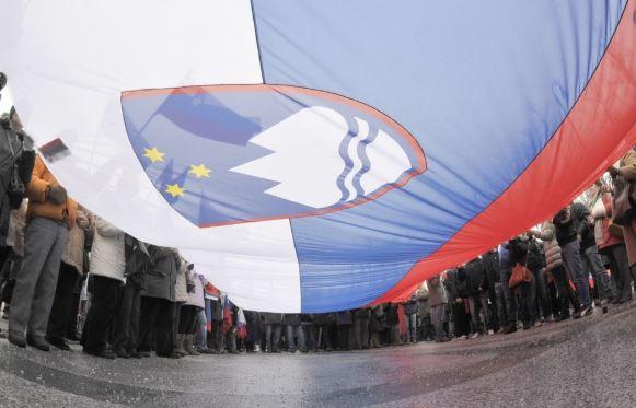 Citizen Stop Migrants in Melania Trump's Home Country Slovenia
