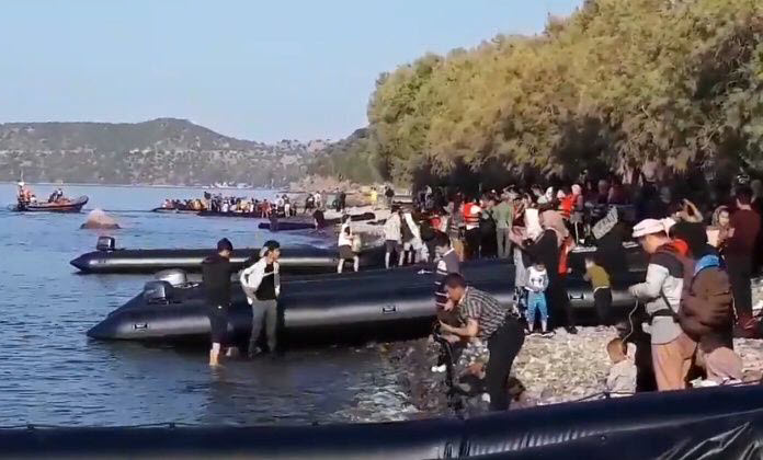 Migrant Crisis 2.0? More than 600 migrants land on Greek island in a single day