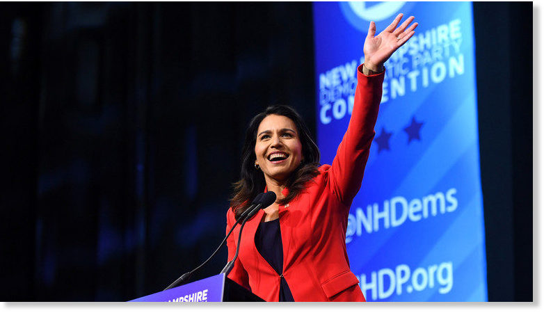 Gabbard Focuses on White House Run – Will Not Seek Reelection to Congress