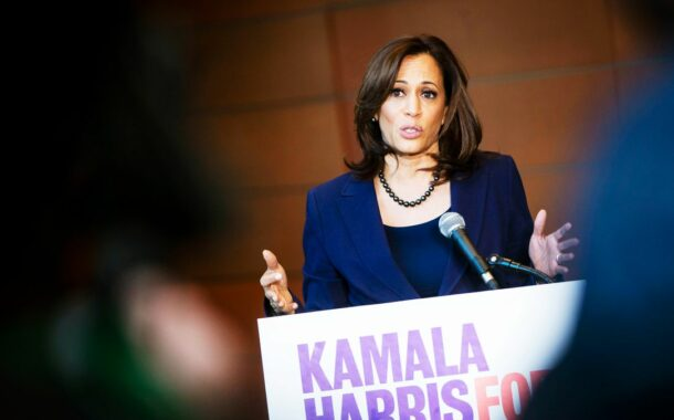 Kamala Harris is popular with the press – not so much with voters