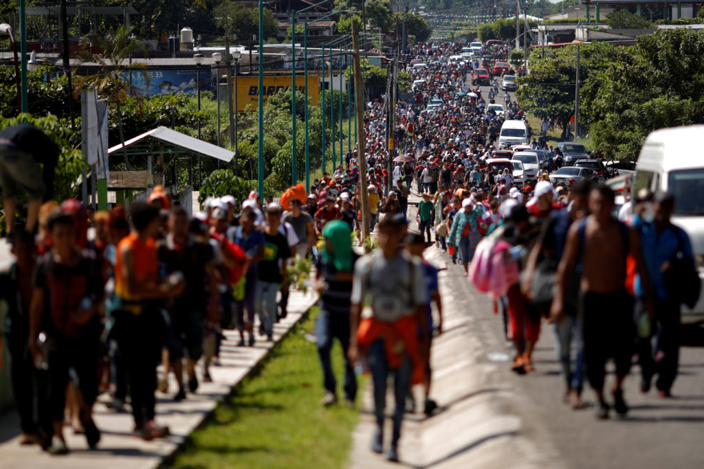 New Central America Caravan Headed Towards The Border