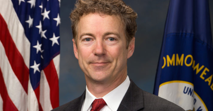 Rand Paul Says Democrats' Ukraine Letter Also Needs to Be Investigated