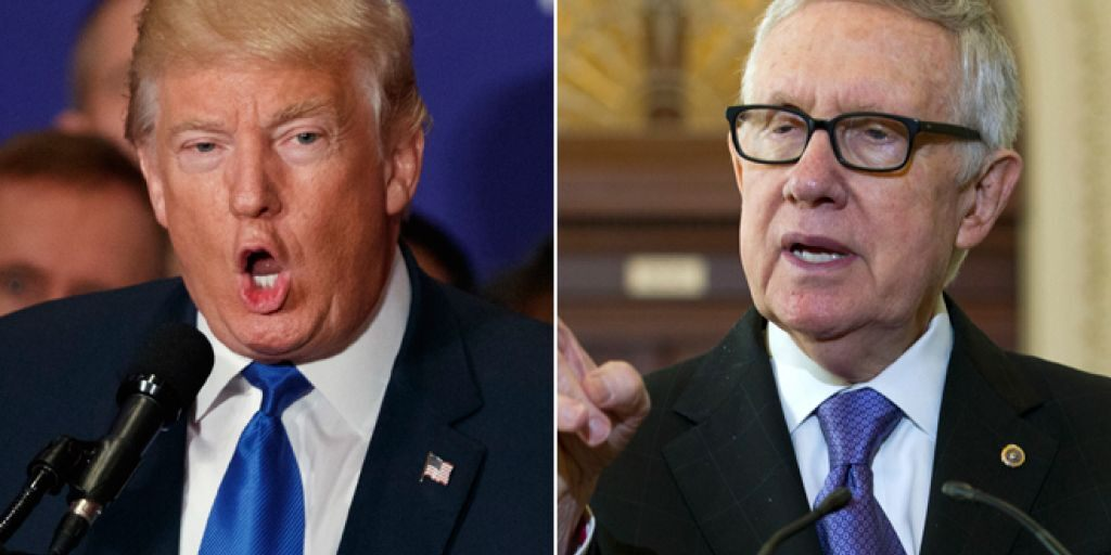 "Harry Reid Warns Dems, ""Do Not Underestimate Trump"""