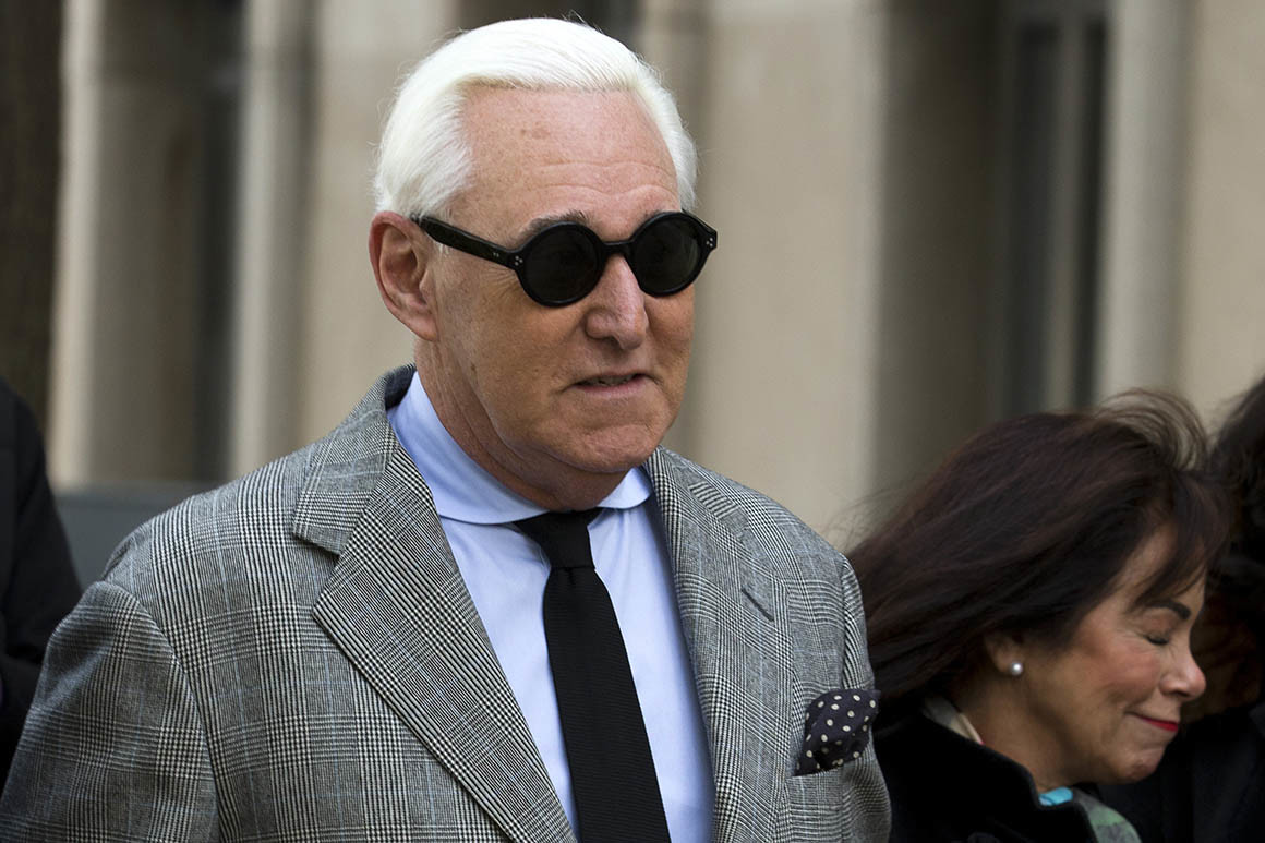 Jury finds Roger Stone guilty on all counts