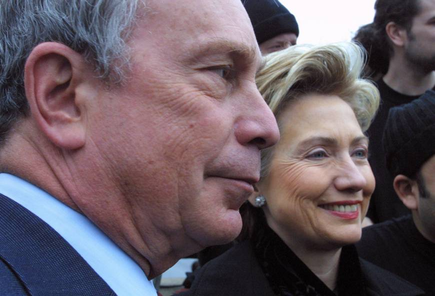 Is Bloomberg Setting Up a Run for Hillary?