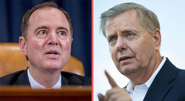 Graham Will Call Schiff to Testify under Oath in Senate if Trump's Impeached