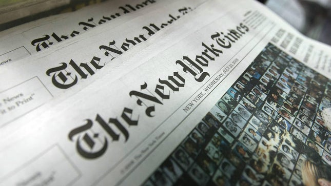 New York Times Has Lost Popularity in Citrus County, Florida