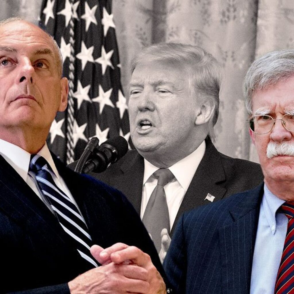 Former Trump Chief of Staff Says He Believes Bolton