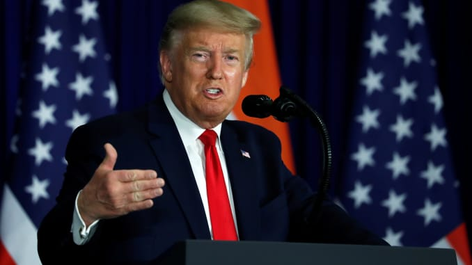 Trump Trounces His Enemies During India Press Conference
