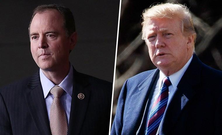 War of Words Between Trump and Schiff Escalates