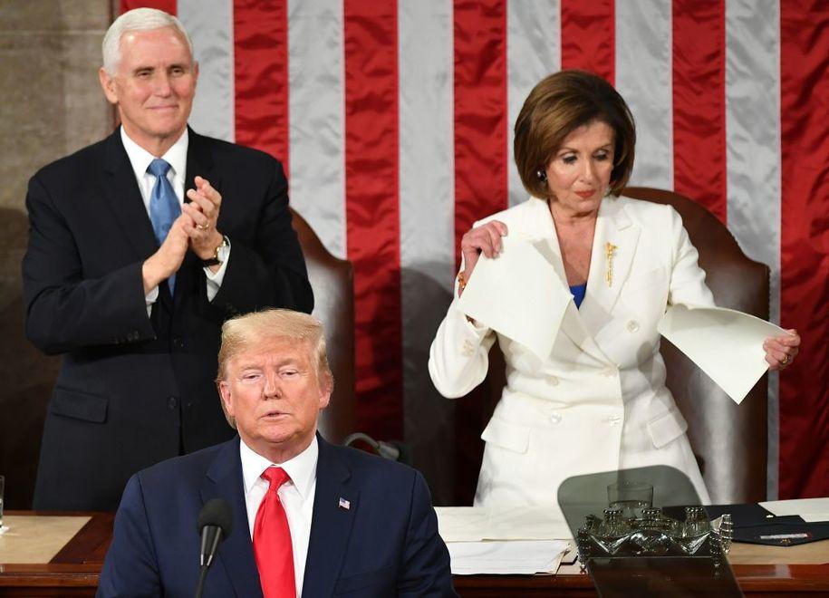 House Democrats Shut Down Rebuke of Pelosi for Shredding Speech