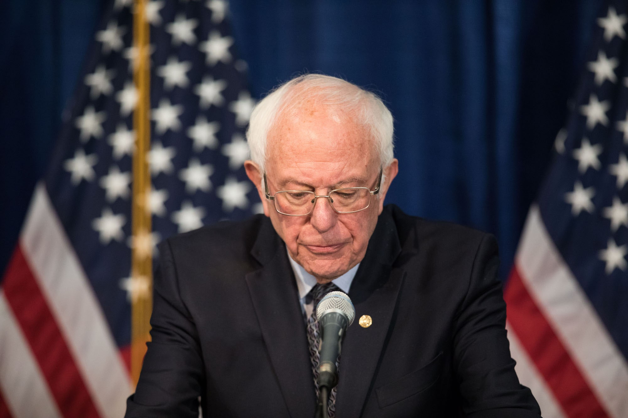 Will Bernie Drop Out?